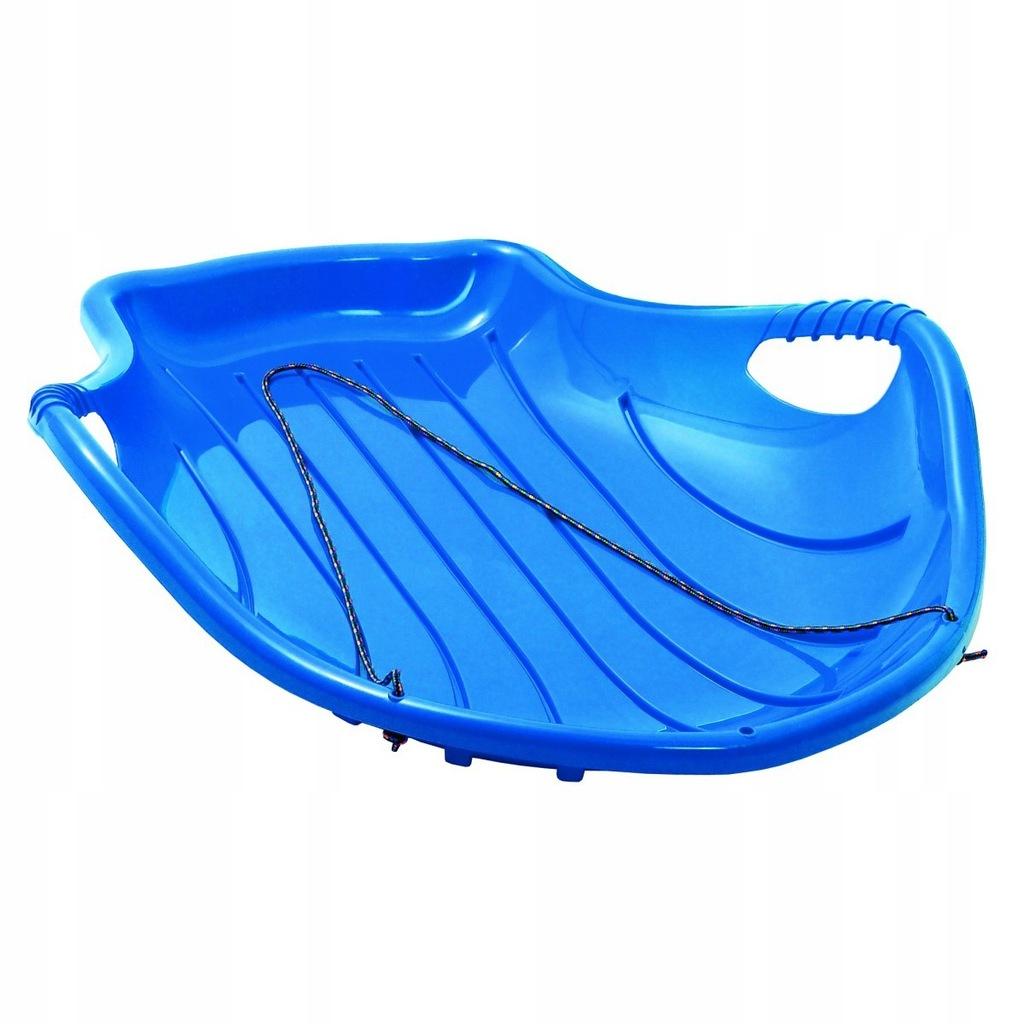 Ślizg Plastikowy Shell Niebieski