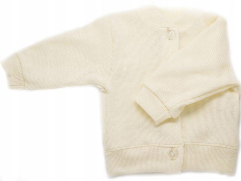First Sweterek Kremowy 56