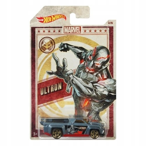 Hot Wheels. GDG83 Ultron, Solid Muscle