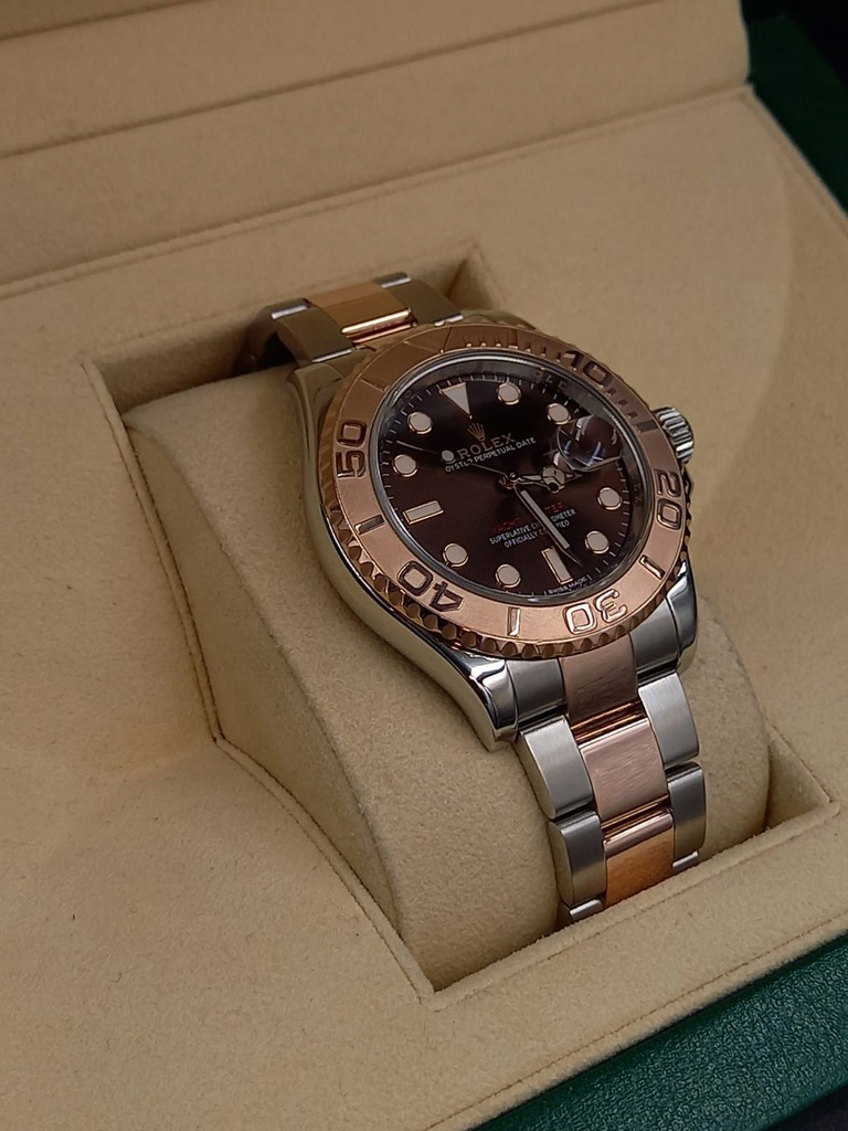 Rolex Yacht-Master Chocolate 2018r. Box&Papers