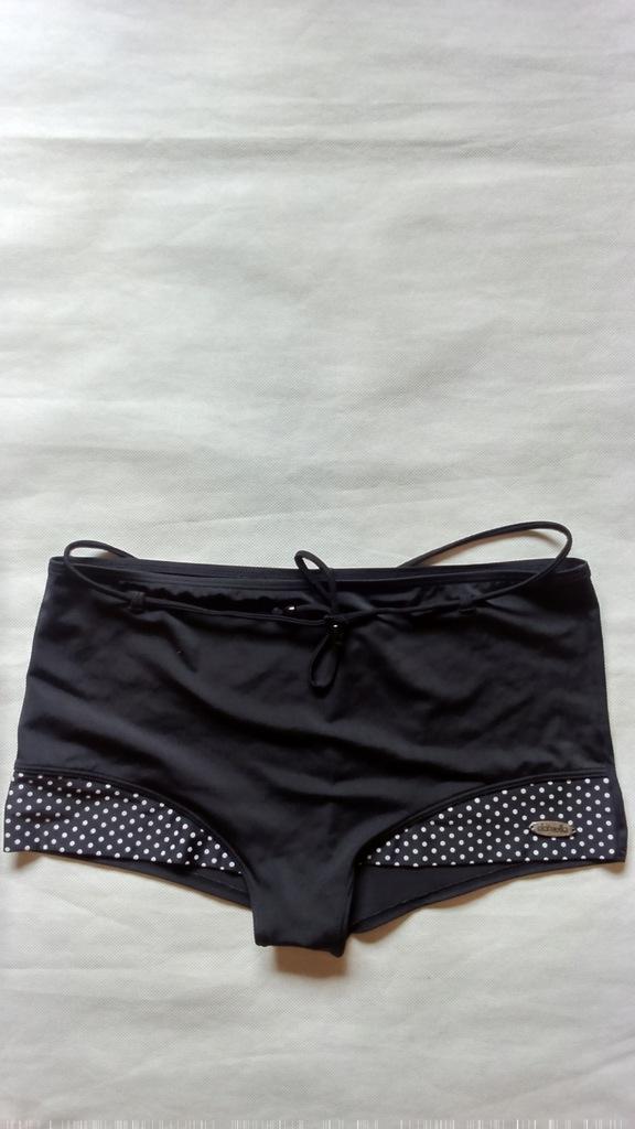 DAMELLA szorty czarne dół do stroju kąpielowego 46