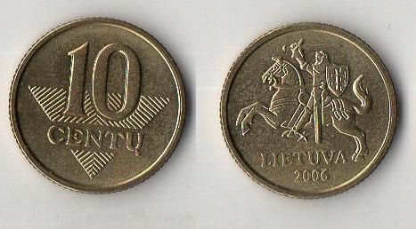LITWA 2006 10 CENTU