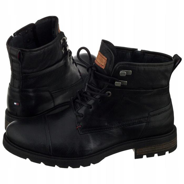 Buty Męskie Tommy Hilfiger Winter Leather Textile