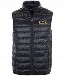 EA7 BEZRĘKAWNIK ZŁOTE LOGO XL
