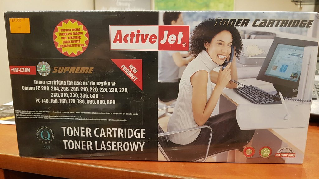 Toner Canon FC200 PC740 F41-8802 ActiveJet AT-E30N