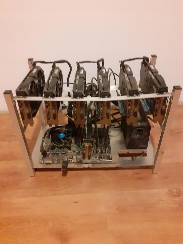 Koparka kryptowalut 7x RX580