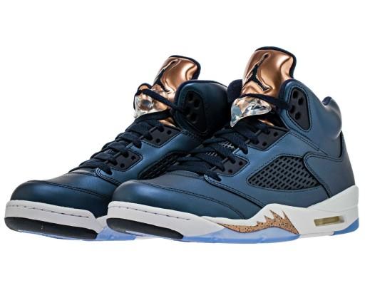 Buty Nike Air Jordan 5 Retro 440888 416 granatowe