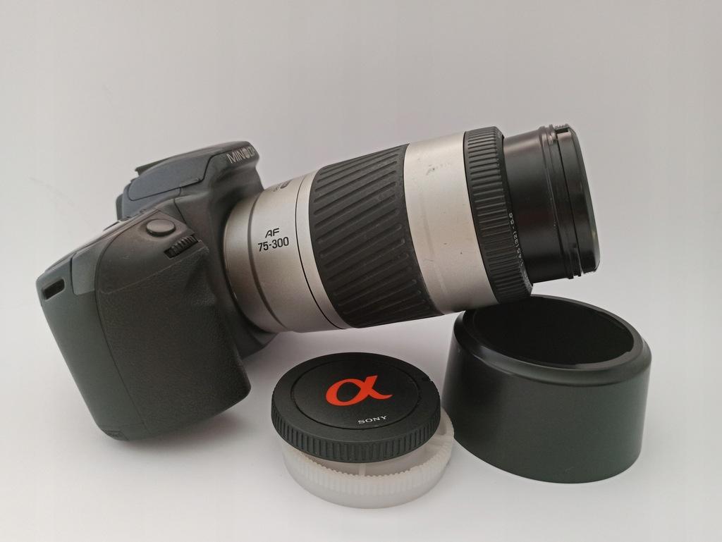 Aparat Minolta 500si Super 75-300mm sony A