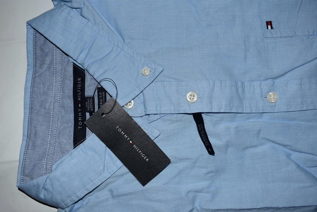 koszula męska XXXL niebieski Tommy Hilfiger