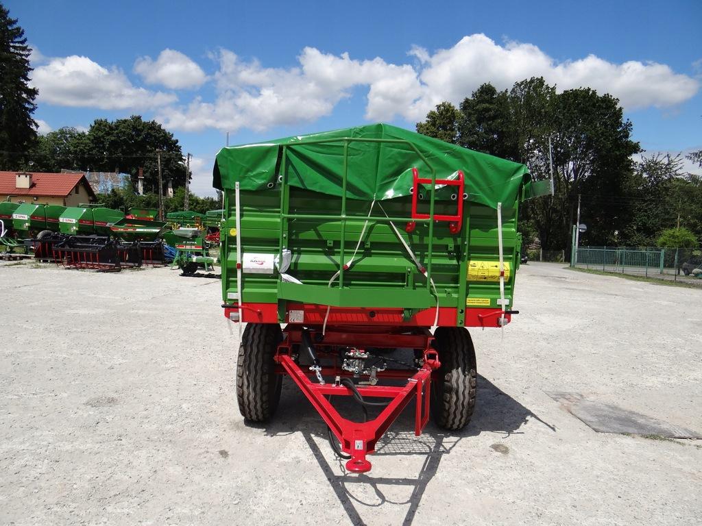 Przyczepa rolnicza Dwuosiowa PRONAR T653/2 6 ton