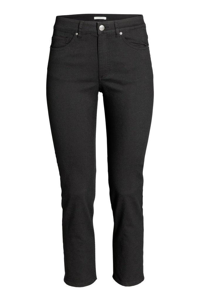 H&M Elastyczne spodnie do kostki, rozm. 42