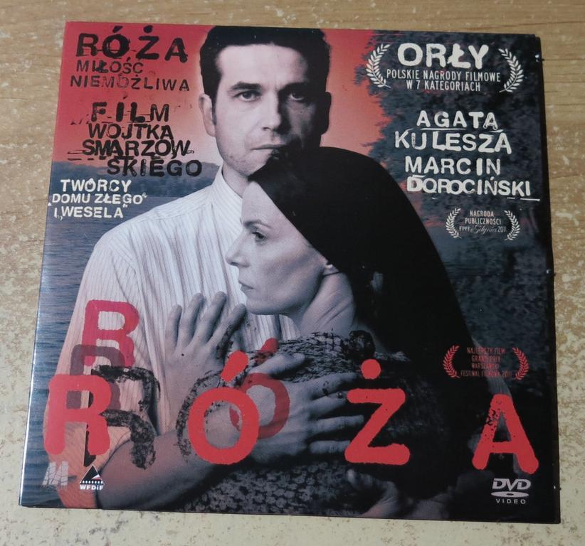 Róża - film DVD