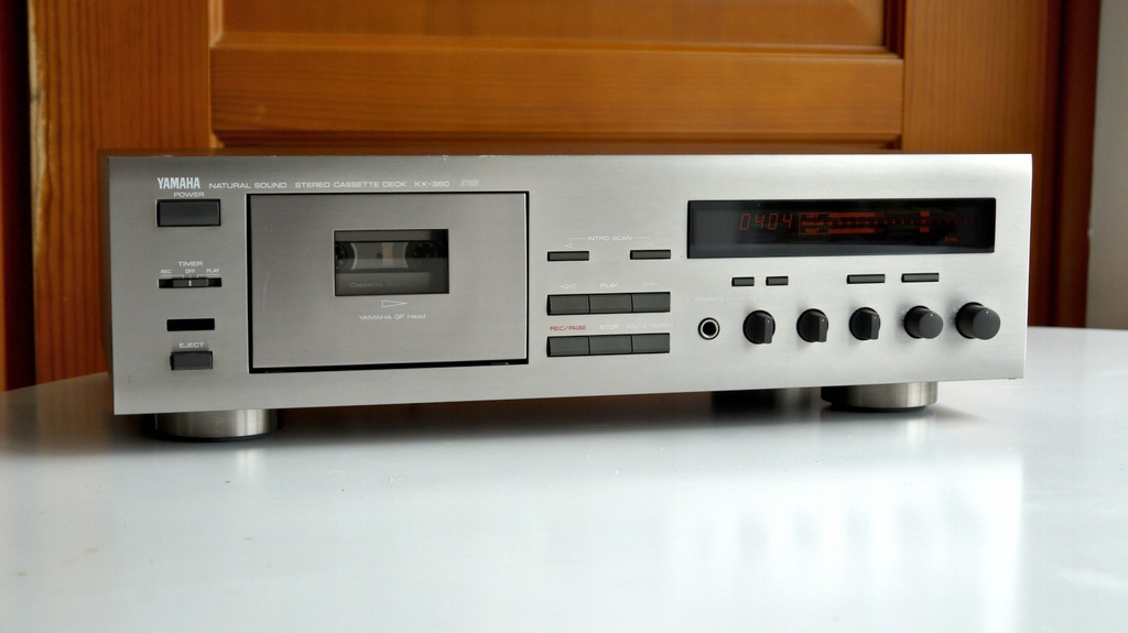 Yamaha KX-360RS Stereo Cassette Deck, BCM