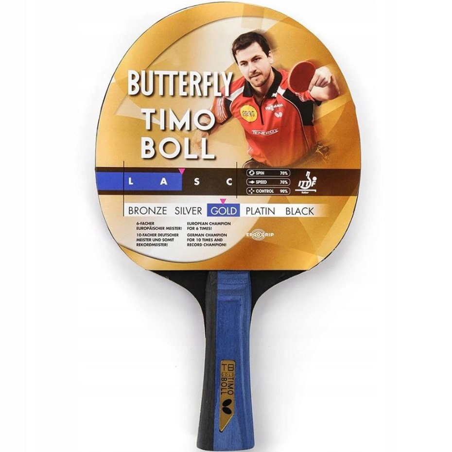Rakietka do ping ponga Butterfly Timo Boll Gold 85