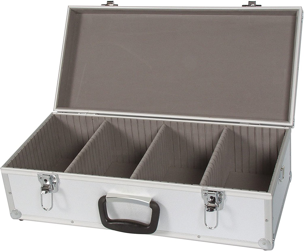 Perel 1823-560 CD Box Skrzynia kufer na 80 płyt CD