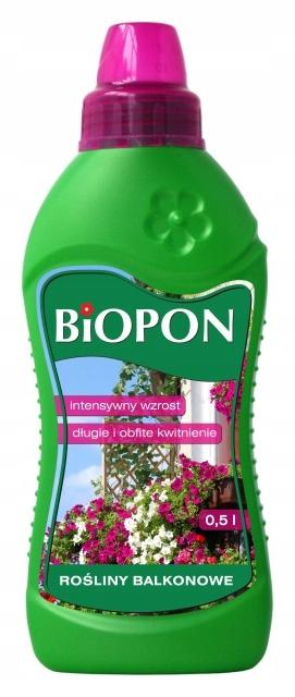 Nawóz do roślin balkonowych 500 ml Biopon