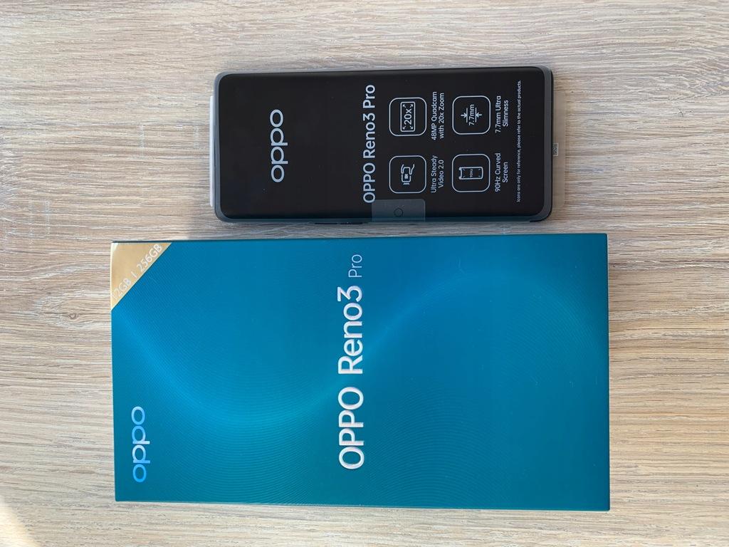 Nowy Oppo Reno 3 Pro 12/256GB czarny NFC 90Hz HIT