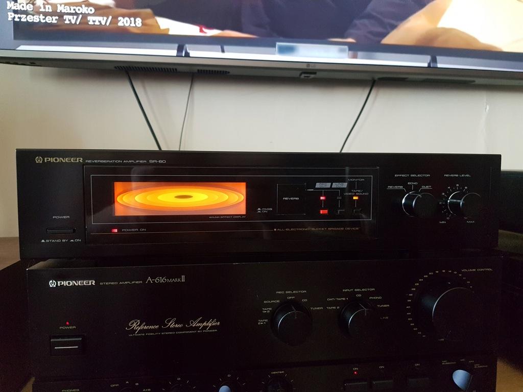 Zadbany Pioneer SR-60 Reverberation Amplifier