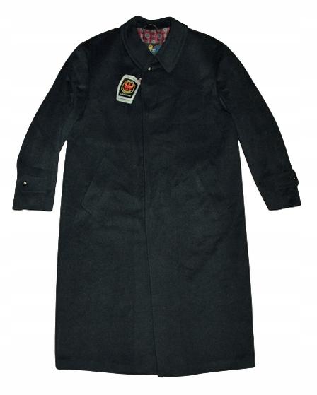 BUGATTI elegancki płaszcz jesionka wełna rozm. XL