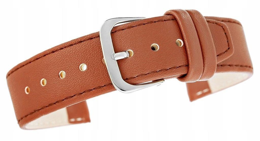 Pasek do zegarka CLASSIC - skóra 20 mm 4999-20XXL-