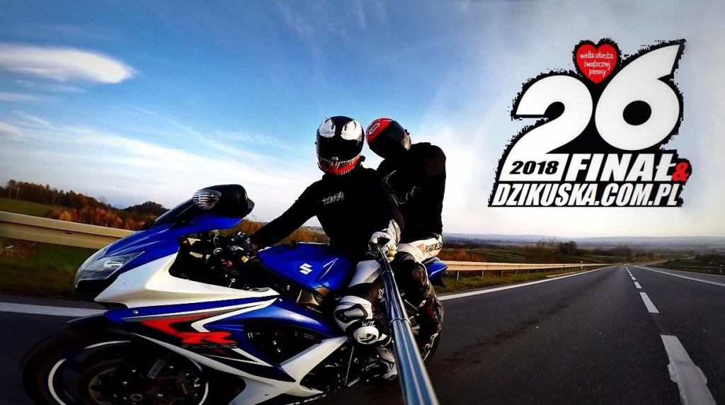 Całodniowa przejażdżka na motocyklu z Dzikuską
