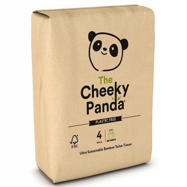 THE CHEEKY PANDA 100% Bambusowy Papier toaletowy 4