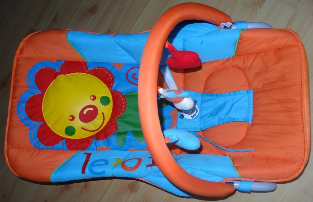 Leżaczek bujaczek niemowlęcy Leroi BabyMix