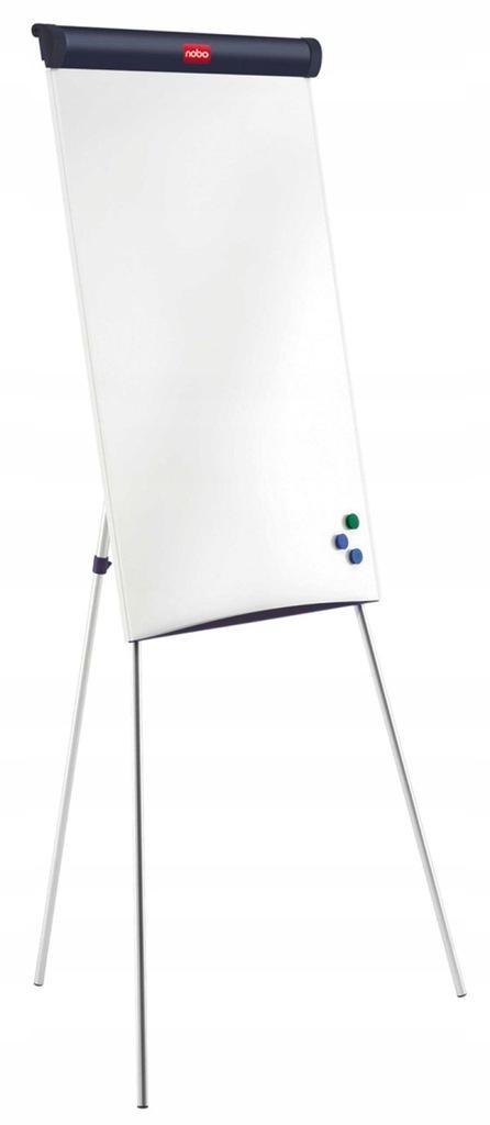 Flipchart na trójnogu 67,5x100cm suchoś -magn