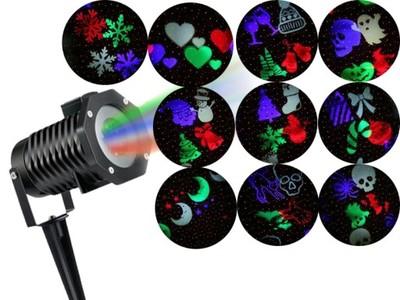 Star Shower Projektor Laserowy Reflektor 12 Efekt 7071381693 Oficjalne Archiwum Allegro