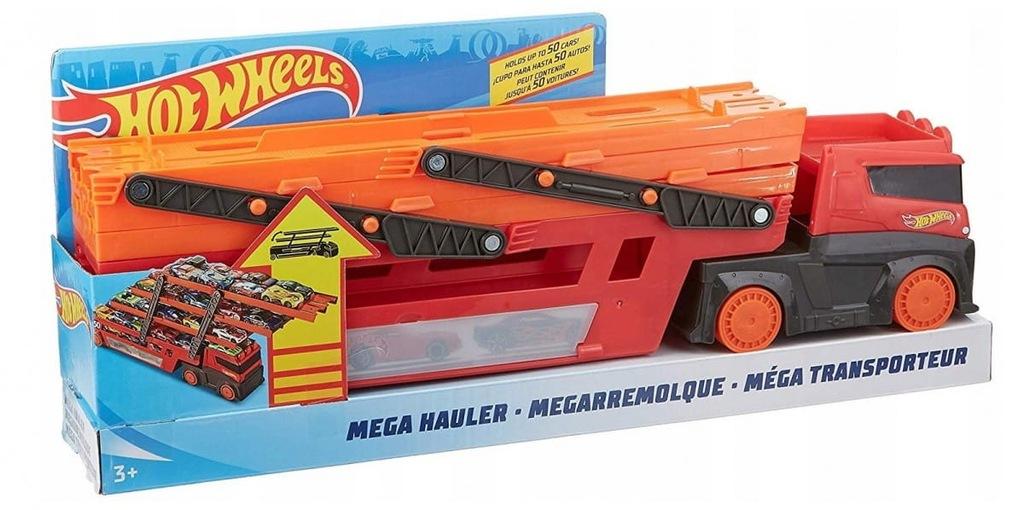 Hot Wheels Ciężarówka Mega Transporter Laweta