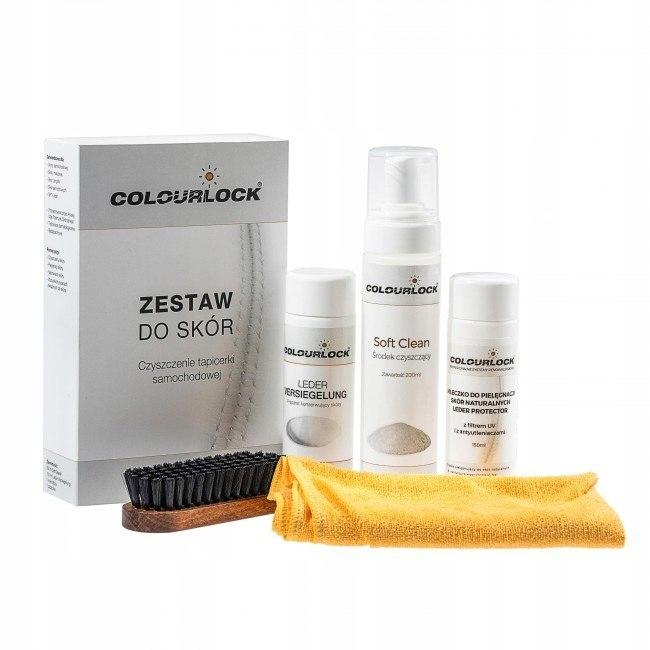 COLOURLOCK Zestaw do czyszczenia skóry SOFT z mlec