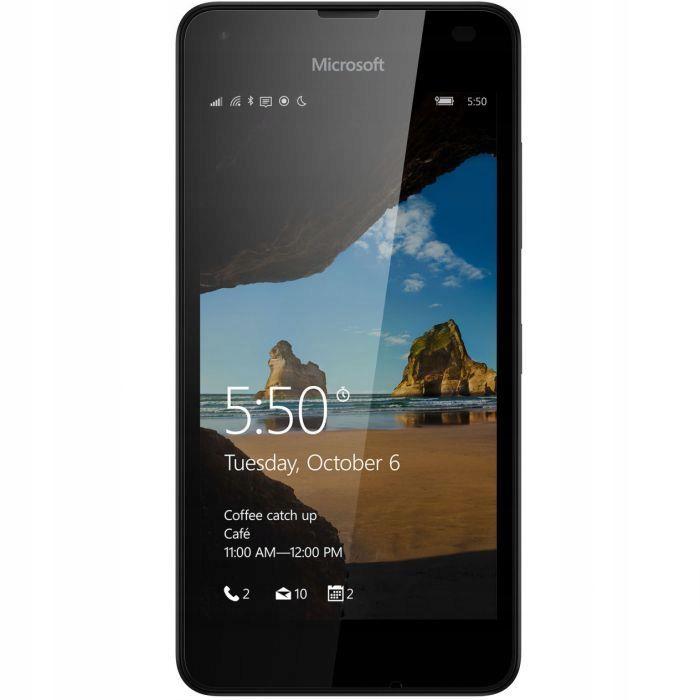 biała Microsoft Lumia 550 bez locka