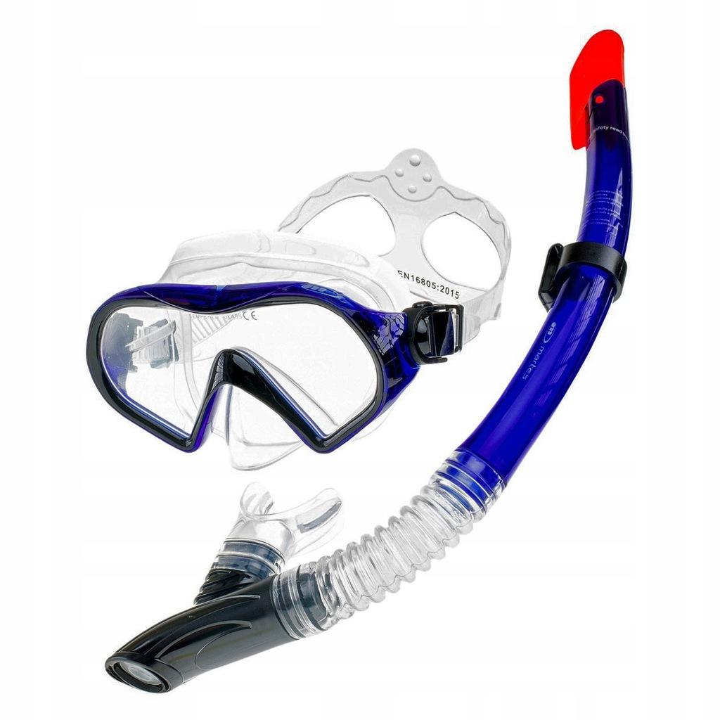 Zestaw Do Nurkowania Snorkeling Maska Fajka Martes 7891215495 Oficjalne Archiwum Allegro