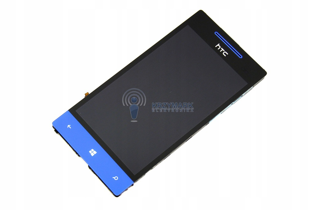 LCD WYŚWIETLACZ HTC WINDOWS PHONE NIEBIESKI 8S