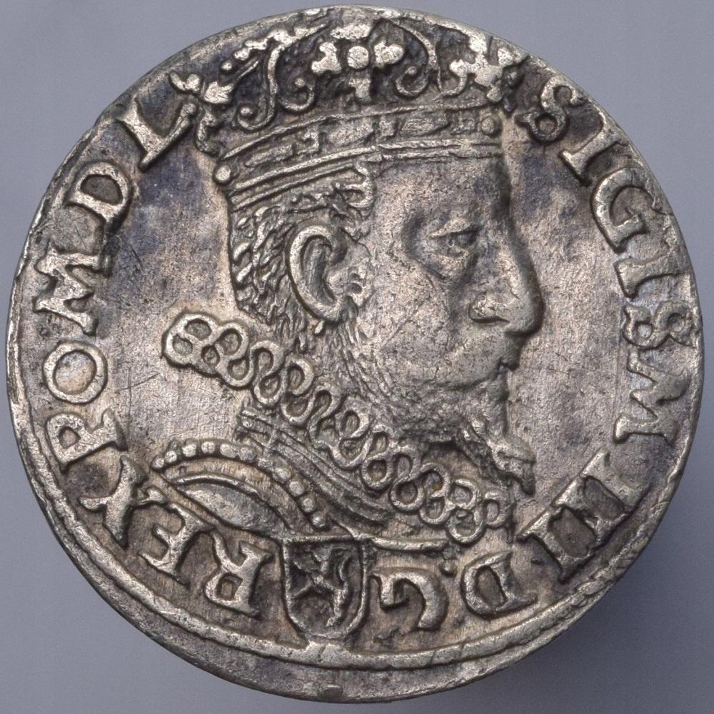 1601 Polska Zygmunt III Waza trojak Kraków