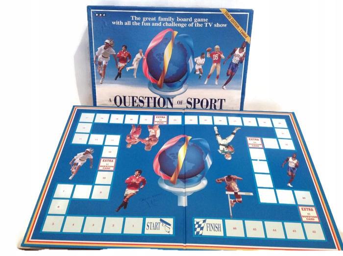 Gra planszowa Question of Sport nauka angielskiego