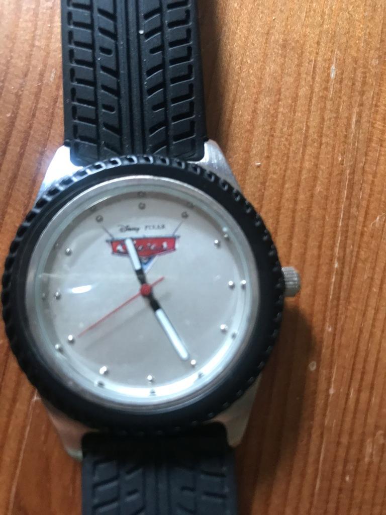 CARS DISNEY zegarek Japan niwy