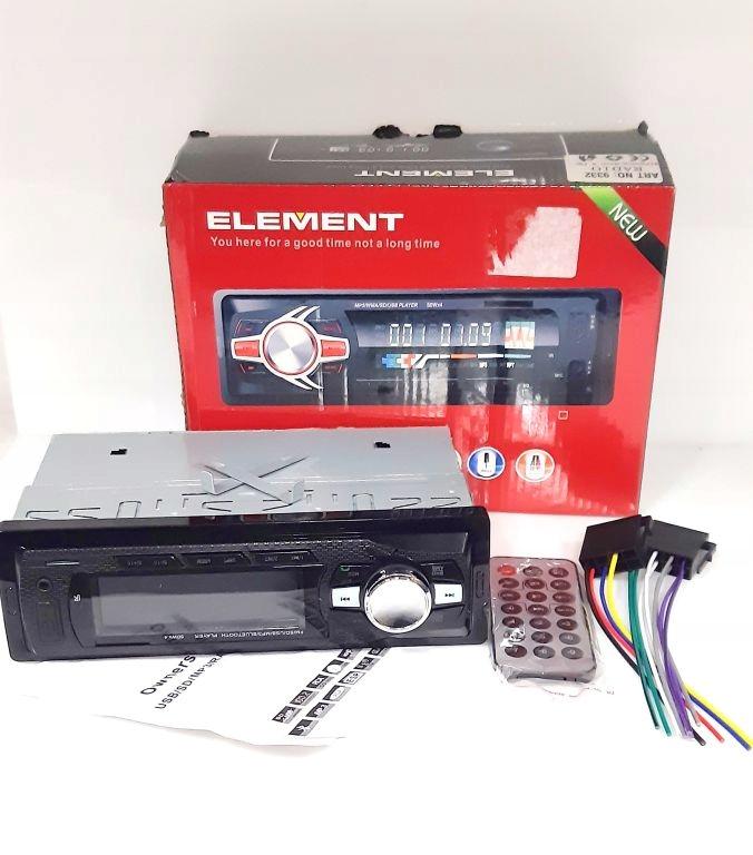 RADIO SAMOCHODOWE ELEMENT /USB/AUX