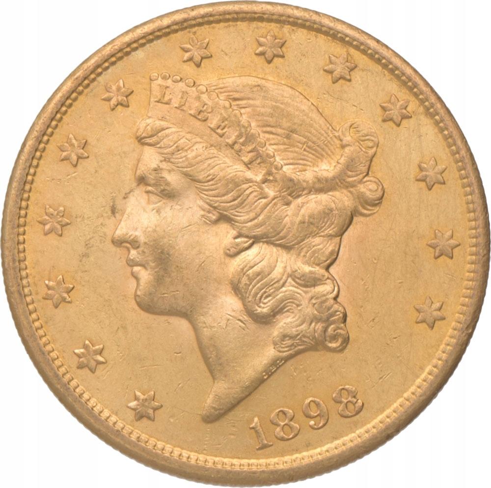 20 Dolarów 1898 - oryginał