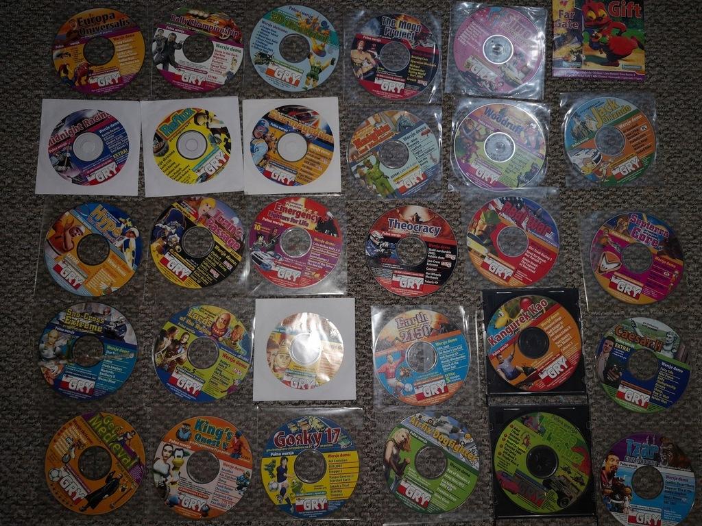 Komputer świat gry - jedyny taki zestaw płyt