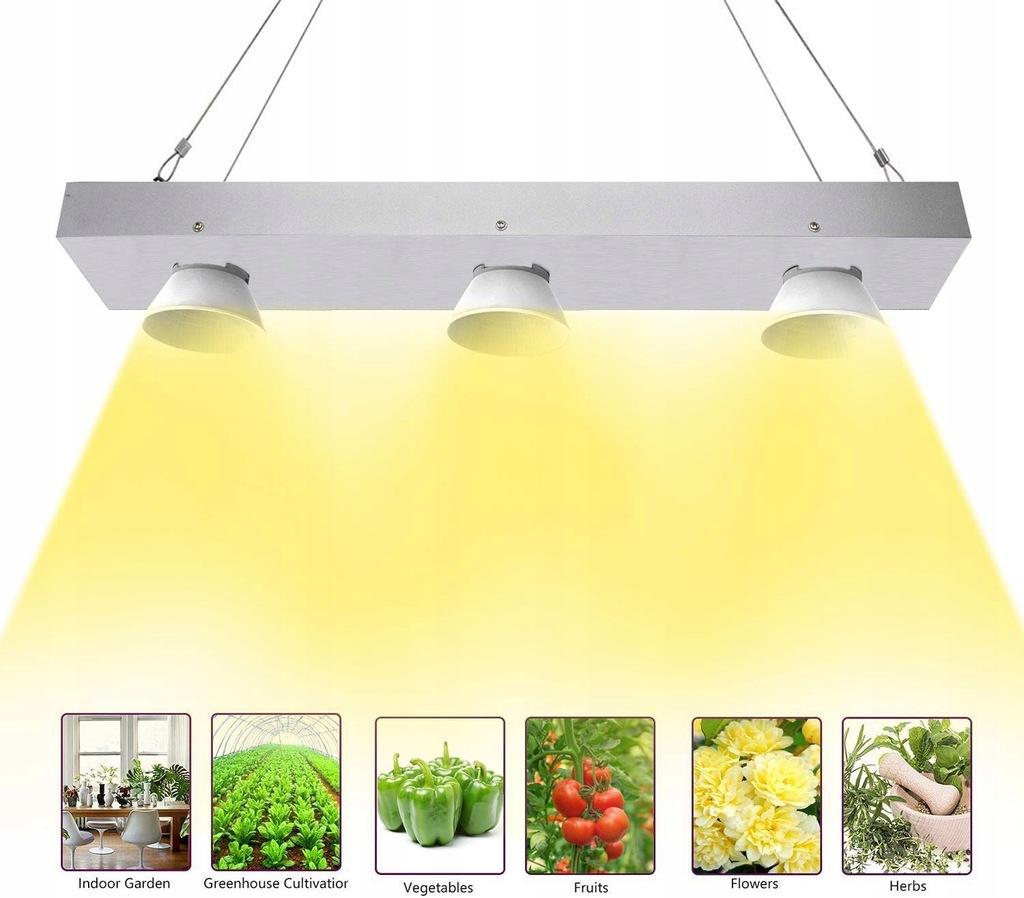 Niello lampa LED do uprawy roślin, 600W TOP JAKOŚĆ