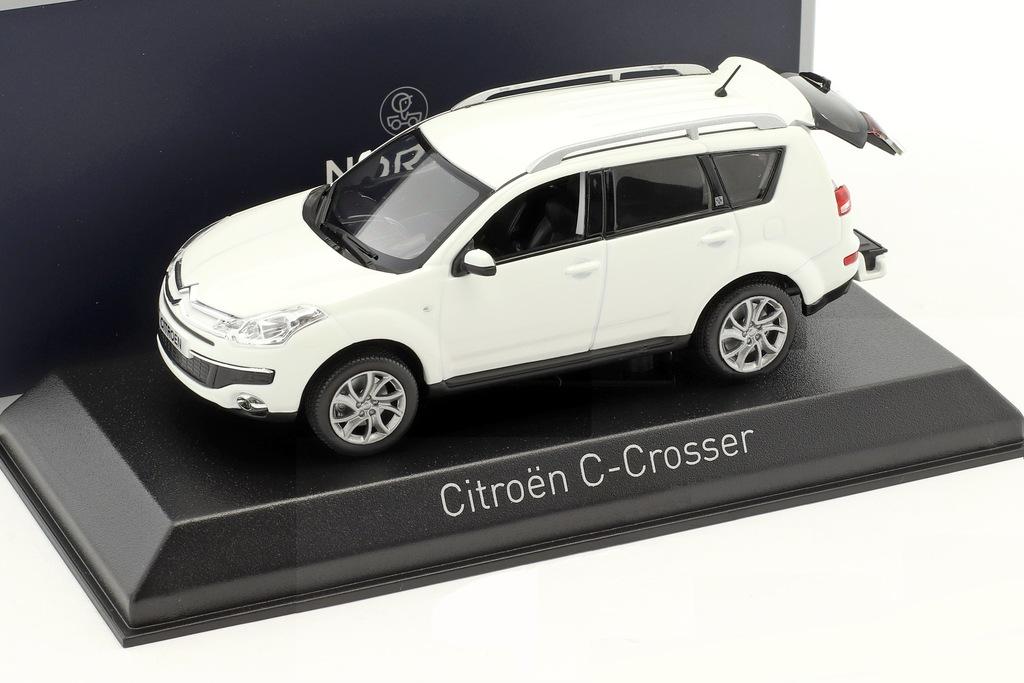 Norev Citroen C Crosser 2007 Banquise White 1 43 7286330488 Oficjalne Archiwum Allegro