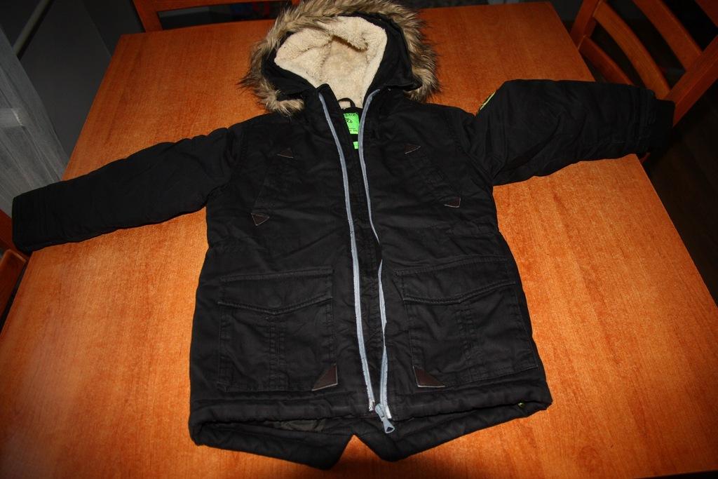 kurtka zimowa chłopięca