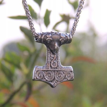 Młot Thora Viking Mjolnir ze stali nierdzewnej