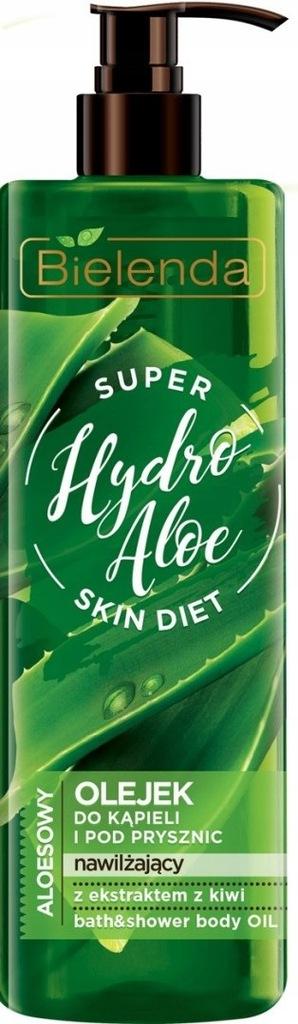 Bielenda Super Skin Diet Hydro Aloe Olejek do kąpi