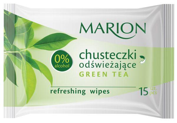 MARION CHUSTECZKI ODŚWIEŻAJĄCE GREEN TEA 15szt