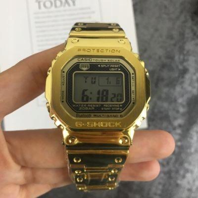 Zegarek Meski Casio G Shock Gmw B5000 Gold Replika 9968932296 Oficjalne Archiwum Allegro