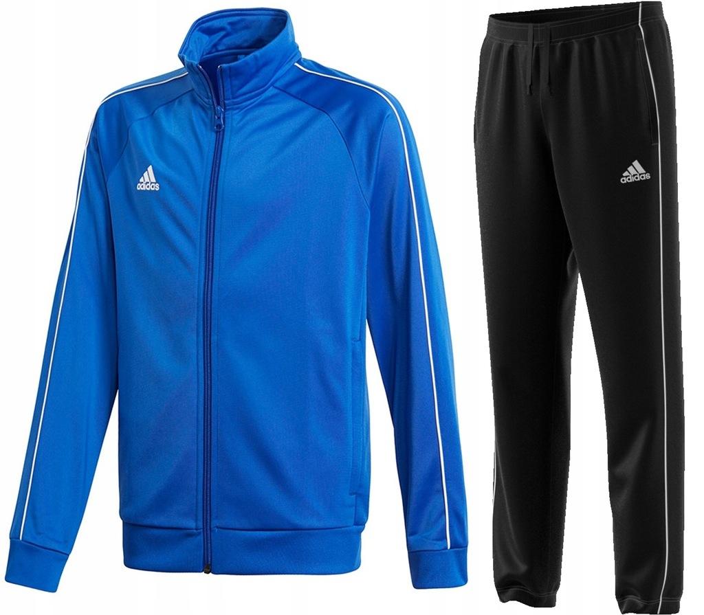 ADIDAS DRES JR Bluza Spodnie Core 18 Junior 152