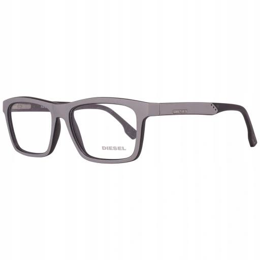 Okulary zerówki, oprawki - DIESEL - DL 5062 - GREY