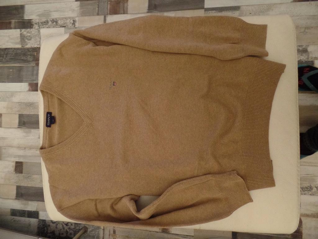 Sweter bawełniany GANT, XL, stan bardzo dobry